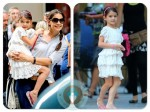 Katie Holmes with daughter Suri out in NYC