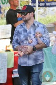 Mike and Luca Comrie, Farmer's Market LA