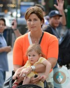 Mirka Federer with her twins out in NYC