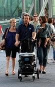 Peter Sarsgaard, Naomi Foner, Maggie Gyllenhaal and Gloria Ray Sarsgaard