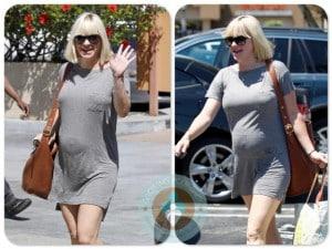 Pregnant Anna Faris out in LA