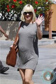Pregnant Anna Faris shops in LA