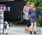 Pregnant Anna Paquin out for a walk in Venice Beach