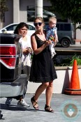 Rebecca Gayheart, daughter Georgia Dane out in LA