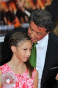 Sylvester Stallone with daughter Scarlet