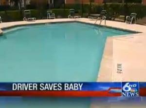 UPS man saves toddler's life