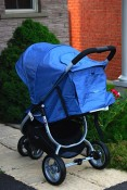 Valco Snap stroller back view
