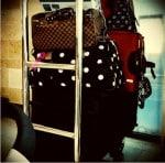 alessandra ambrosio luggage