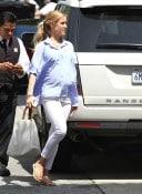 pregnant Kristin Cavallari out in LA
