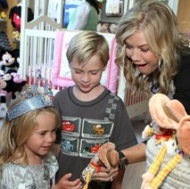 Celebrity Families & Military Moms Celebrate The Opening Of The Disney Baby Store in LA