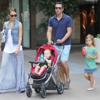 Jessica Alba & Her Family Brunch in West Hollywood