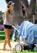 Alessandra Ambrosio with son Noah - Quinny Moodd