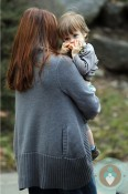 Alicia Silverstone with son Bear Blu Jareck God's Behaving Badly in NYC