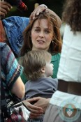 Alicia Silverstone with son Bear Blu Jareck in NYC