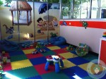 Azul Fives Toddler play area
