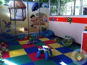 Azul Fives Toddler play area