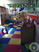 Azul Fives - toddler play area