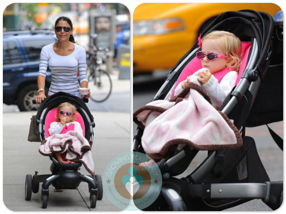 Bethenny Frankel With Daughter Bryn Hoppy 4moms Origami Copy