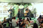 Blue Sky Riders perform at the Disney Baby Store Opening