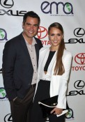 Cash Warren and Jessica Alba 2012 Environmental Media Awards
