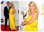 Claire Danes and Hugh Dancy at 64th Annual Primetime Emmy Awards