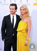 Hugh Dancy & a pregnant Claire Danes 64th Annual Primetime Emmy Awards