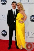 Hugh Dancy and a pregnant Claire Danes 64th Annual Primetime Emmy Awards 2012