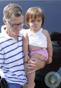 Irv Richards with Eloise Richards out in LA