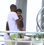 Jay-Z and daughter Blue Ivy vacationing in the South of France