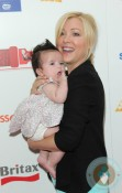 Jennifer Aspen with her daughter Charlotte at the Britax RED Carpet Event