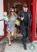 John Travolta and Kelly Preston Step Out In Paris With Benjamin