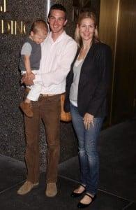 Kelly Rutherford, Hermes Giersch, Daniel Giersch in 2008