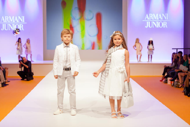 Kind Amp Jugend Kids Fashion Show 2012 Armani Junior Growing