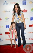 Marisol Nichols with her daughter Rain at BRITAX Red Carpet Event