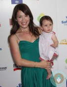 Marla Sokoloff with daughter Elliotte Anne at Britax RED Carpet Event