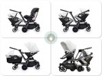 Orbit Helix Double Stroller configuration