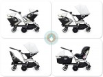 Orbit Helix double stroller configurations
