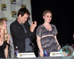 Pregnant Anna Paquin at Comic Con 2012
