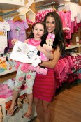Samantha Harris and daughter Josselyn at the Disney Baby Store Opening