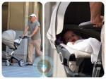 bruce willis with daughter Mabel out in NYC ~ Stokke Xplory