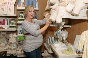 pregnant Actress Leigh-Allyn Baker at the Disney Baby Store Opening