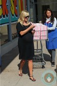 pregnant Reese Witherspoon out shopping in LA