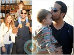 Alizee Guinochet, David Blaine and their daughter Dessa NYC