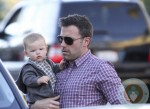 Ben Affleck & Family Go Out For A Family Dinner