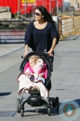 Bethenny Frankel with daughter Bryn Hoppy out in NYC