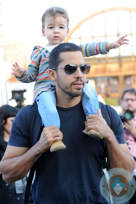 David Blaine And His Daughter Dessa Nyc Growing Your Baby