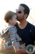 David Blaine & his daughter Dessa NYC