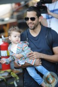 David Blaine out with his daughter Dessa NYC