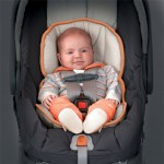 KeyFit 30 infant seat with baby