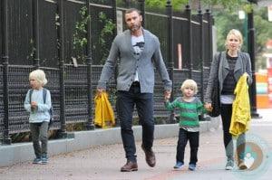 Liev Schreiber, Naomi Watts stroll through NYC with Samuel and Sasha